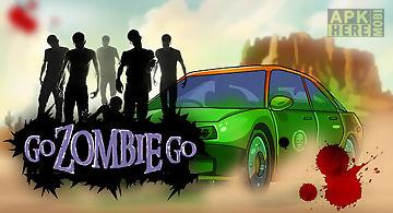 Go zombie go - racing games