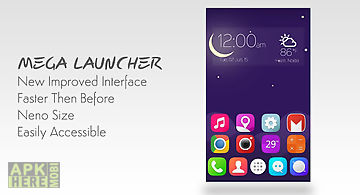 Mega launcher : home screen