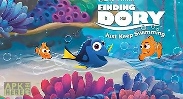 Disney. finding dory: just keep ..