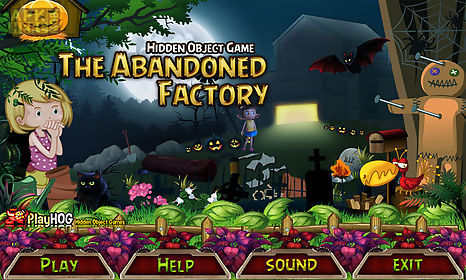 Free hidden object game - the abandoned factory for Android free