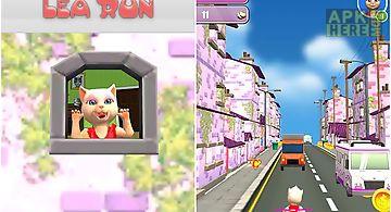 Princess cat lea run