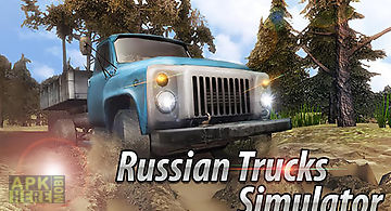 Russian trucks offroad 3d