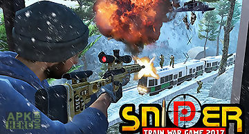 Sniper train war game 2017