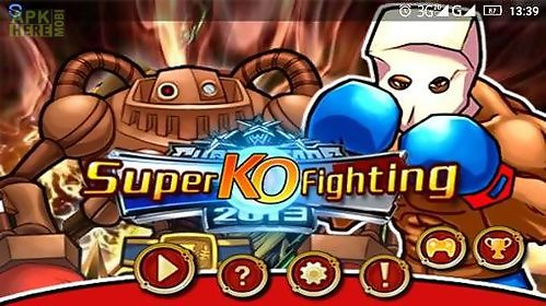 super ko fighting: bloody ko championship