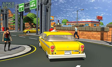 texi car driver parking 3d
