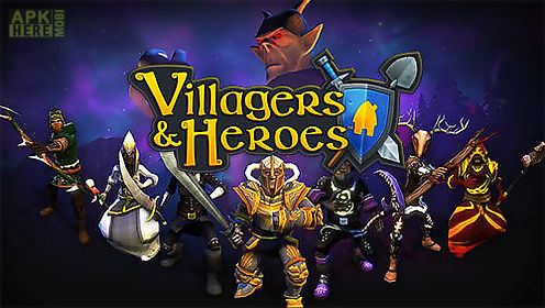 villagers and heroes 3d mmo