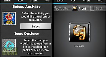 Wizard cut icon changer