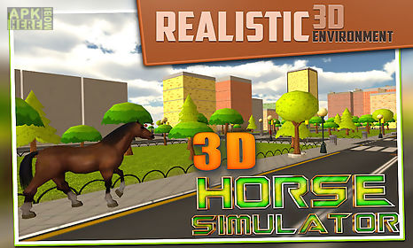 3d horse simulator game