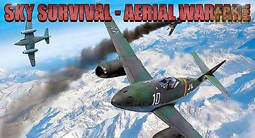 Sky survival: aerial warfare