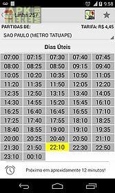 bus timetable - emtu