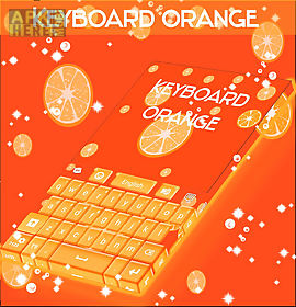 keyboard orange skin