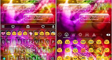 Luminous dream emoji keyboard