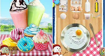 Sweet treat: kids food game
