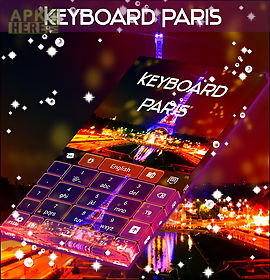theme for paris keyboard