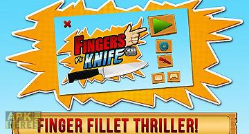 Fingers vs knife 3d