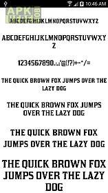 fonts for flipfont 50 #5