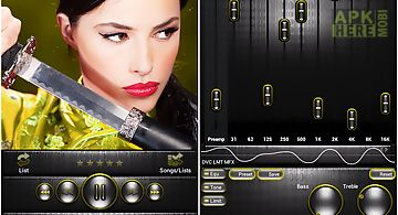Poweramp skin steel i. yellow