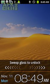 screen on battery (status bar)