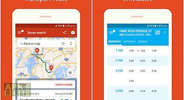 Trafi: navigate public transit