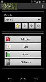 fillup gas mileage log for android free download at apk here store