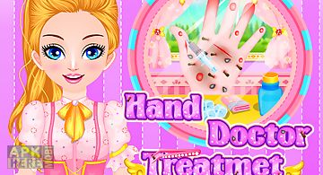 Hand doctor treatment