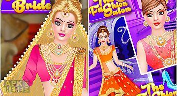 Indian doll - bridal fashion