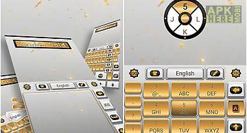 Arabic gold go keyboard theme