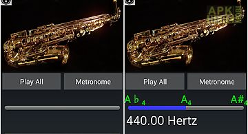 Easy saxophone - sax tuner
