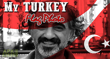 My turkey flag photo editor