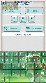 photo keyboard customizer