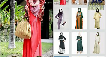 Photo montage abaya gown
