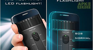 Super flashlight led torch
