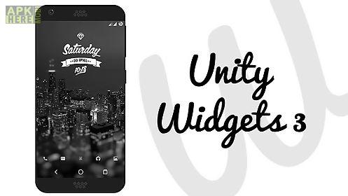 unity widgets 3