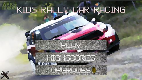 kids rally car racing