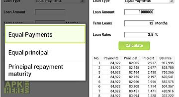 Loan calculator (installment)