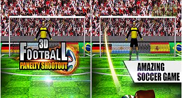 3d football penalty shootout