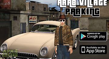 Arab village parking king 3d