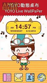 cute kitty cat clock widget