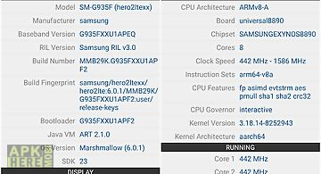 Hardware info for Android free download at Apk Here store