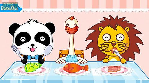 my baby panda chef