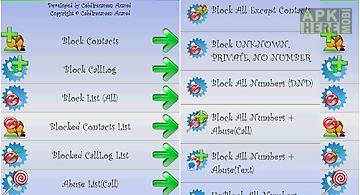 Block sms | block call | sms for Android free download at Apk Here