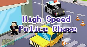 High speed police chase