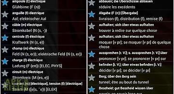 Offline french german dict.