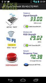 signal refresh 3g/4g/lte/wifi