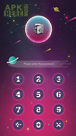 applock theme planet