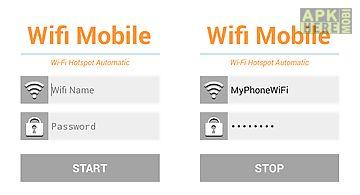 Share wifi mobile hotspot free