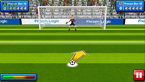 ... Real Soccer Penalty Kick Goal Football League 2017 poster ...
