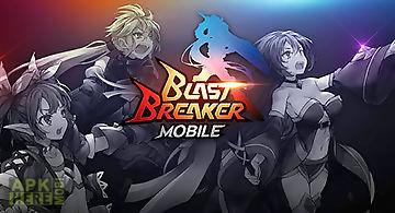 Blast breaker mobile