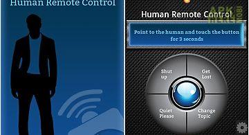 Human remote control