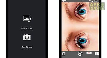 Eye color lenses photo editor